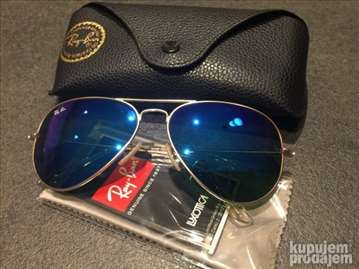 Naočare Ray Ban Gold /Blue