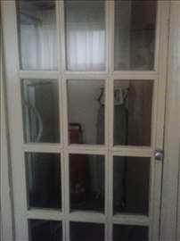 Staklena drvena vrata 190x90