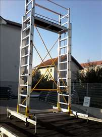 Aluminijumska pokretna skela 5.5m platforma