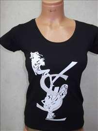 Yves Saint Laurent majice sa likrom