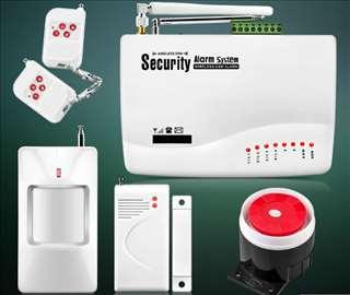 GSM alarm, alarm sa dojavom na mobilni