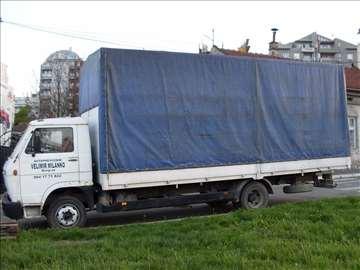 Prevoz kamionom građevinskog materijala