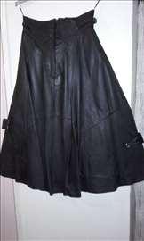 Kožna suknja!