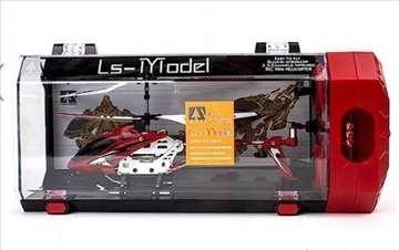 RC helikopter crvene boje LS model - novo