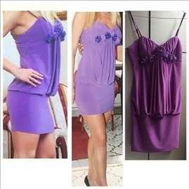 Prelepa lila haljina