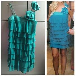 Prelepa tirkiz haljina