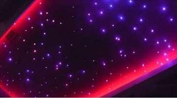 ZVEZDANO NEBO- LED RGB Opticko vlakno