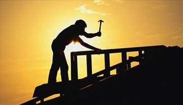 Limarski radovi na krovu brzo i povoljno