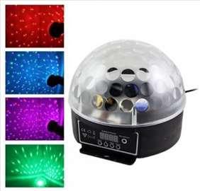 Profi LED disko kugla DMX - novo