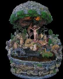 Velika sobna fontana - Raspeće Isusovo