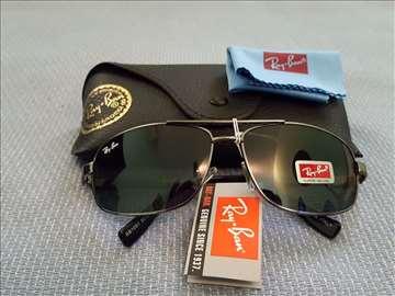 Ray Ban sunčane naočare zeleno staklo