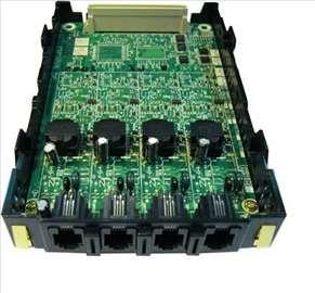 Panasonic KX-TDA3171, 4 digitalna lokala