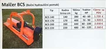 Malčer BCS bočni hidraulični pomak