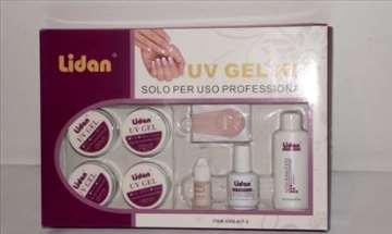 Lidan mini set za nadogradnju noktiju