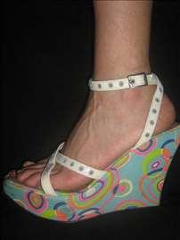 Šarene sandale - platforma