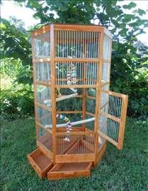 Šestougaoni kavez za papagaja