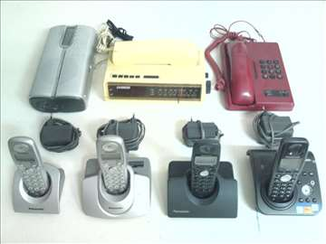 Panasonic 4 broja bežični plus 2 fiksni i radio