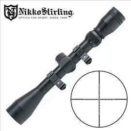 Nikko Stirling optika 3-9 x40 Mil Dot