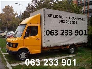 Selidbe prevoz, kombi ili kamion