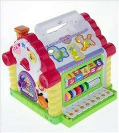 Muzička kućica edukativna igračka