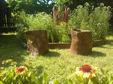 Dekorativni panjevi za vašu baštu