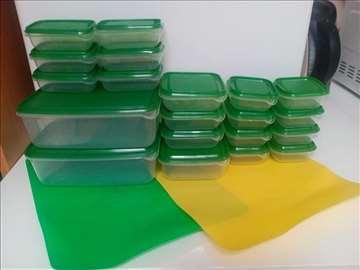 Plastične posudice sa poklopcem IKEA