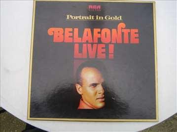 Harry Belafonte - Live Portrait in Gold, ploča