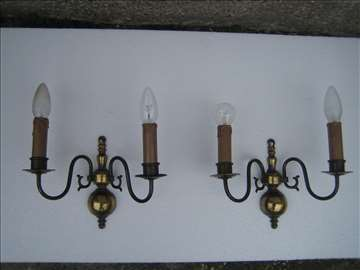 Zidne lampe - Par, mesing