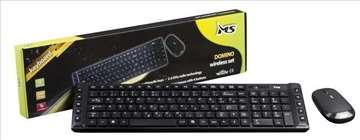 Bežicni tastatura i miš slim