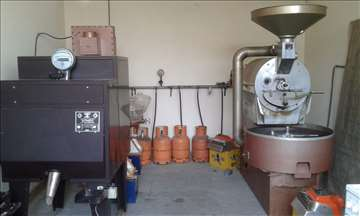 Pržionica kafe sa opremom