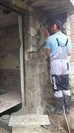 Beton bušenje, rušenje i sečenje