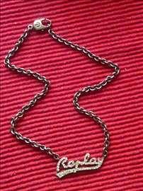 Original Replay ogrlica sa priveskom