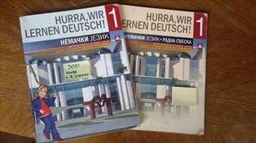 Nemački jezik za 5. razred - knjiga + radna sveska
