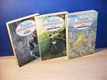 Tolkin, Gospodar prstenova 1-3 , komplet