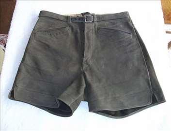 Kožne kratke pantalone