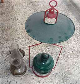 Stare lampe na gas