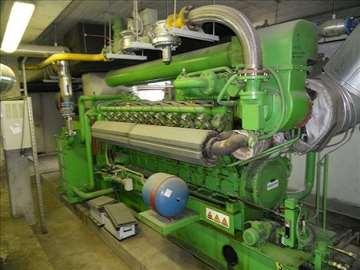 Kogeneracija oz. električni agregat Jeenbacher
