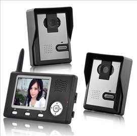 Bežični video telefon za vrata - 2.4GHz