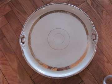 Tacna porcelan pozlata