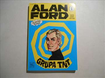 """Alan Ford: Zlatni Klasik br.1 """"Grupa TNT"""""""