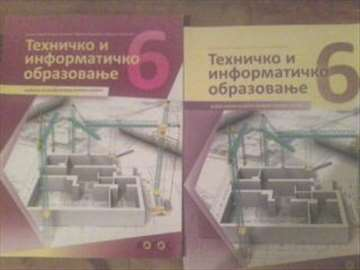 Prodajem radnu svesku i udzbenik iz tehničkog 6