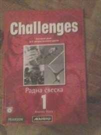 Prodajem radnu svesku iz engleskog Challenges 5