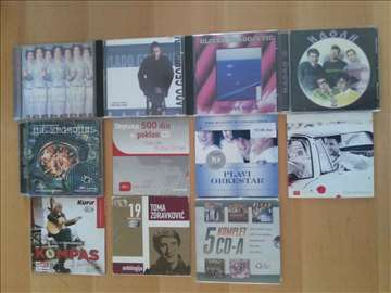 15 CD-ova - domaći miks