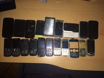 19 mobilnih telefona