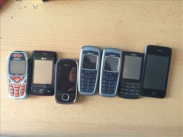 7 mobilnih telefona
