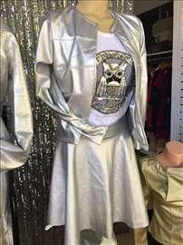 Tanja srebrna jaknica