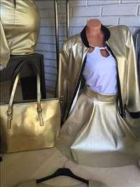 Tanje jaknice - zlatna i srebrna