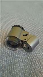 Lupa mikroskop 50x uvećanje sa Led i UV