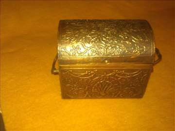 Kutija za nakit - bakar