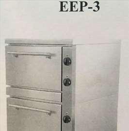 Električna troetažna pećnica